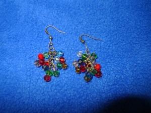 dangle earrings christmas bella