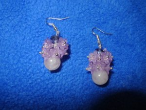 dangle earrings azalea
