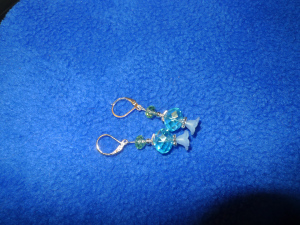 dangle earrings faith