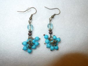 dangle earrings iris